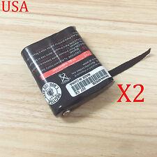 2x Battery Ni-cd for Motorola Talkabout Radio 53615 Hknn4002ahknn4002b Hknw4002a