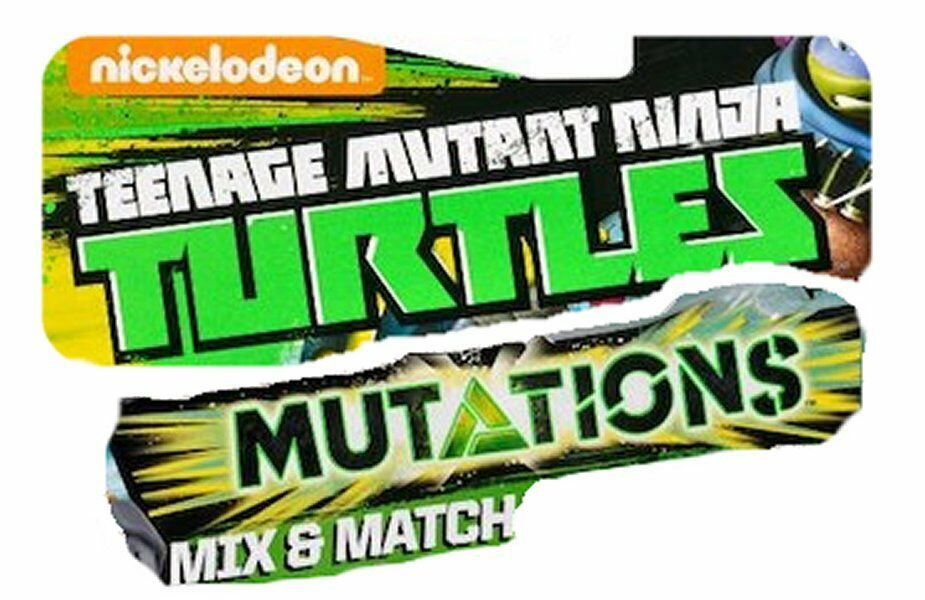 Teenage Mutant Ninja Turtles MUTATIONS MIX & MATCH Action Figures CHOOSE
