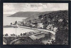 St.Aubins Bay, JERSEY, Channel Islands.  Boots Pelham Series postcard.