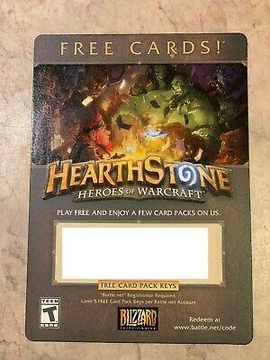 Hearthstone 3 Classic Card Pack Keys Blizzard | eBay