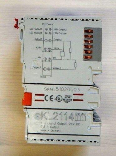 Beckhoff Busklemme KL2114 4x Digitalausgang 24VDC digital output
