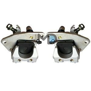 Motadin Front Brake Calipers for Yamaha GRIZZLY 350 2WD 4WD YFM350 2007-2014 HUNTER