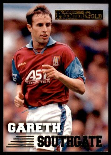 Aston Villa GARETH SOUTHGATE #17 MERLIN PREMIER Gold 1996-1997