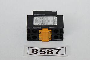Telemecanique LA1 D11 A65  CONTACT BLOC *8587*