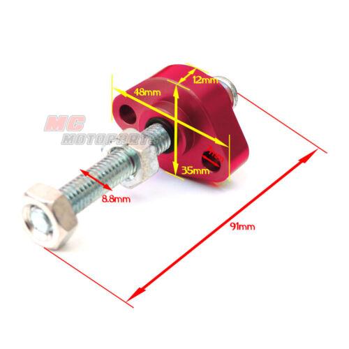 Red CNC Manual Cam Chain Tensioner For ATV Honda TRX 250X 87 88 89 90 91 92