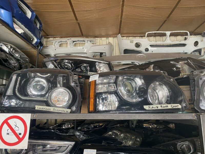 Landrover discovery 4 headlights for sale