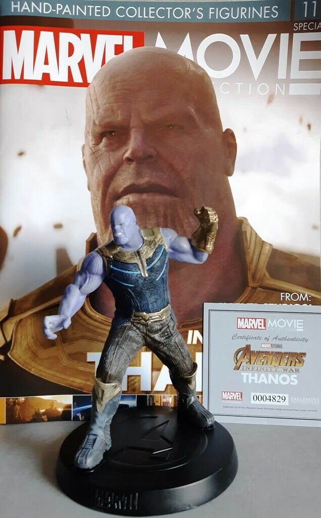 MARVEL MOVIE COLLECTION specialeee   11 FIGURINE Thanos (Avengers  INFINITY era) OVP  compra meglio