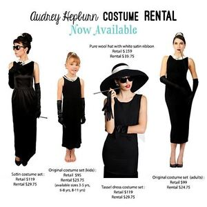 breakfast tiffanys audrey hepburn holly golightly costume rental