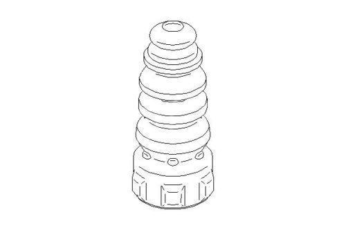 Skoda Octavia 1Z3 1Z5 2004-2013 Topran Rear Bump Stop Suspension Replace Part