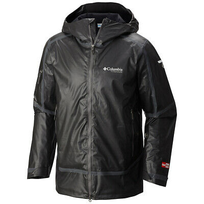 Stinger Mens Columbia Titanium Outdry EX Diamond Shell Waterproof Jacket $400