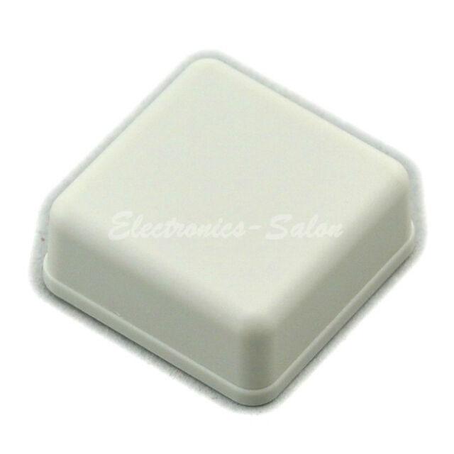 Small Desk-top Plastic Enclosure Box Case, White, 36x36x15mm, HIGH QUALITY.