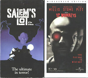 Salem-039-s-Lot-The-Movie-VHS-1993-amp-12-Monkeys-2-VHS