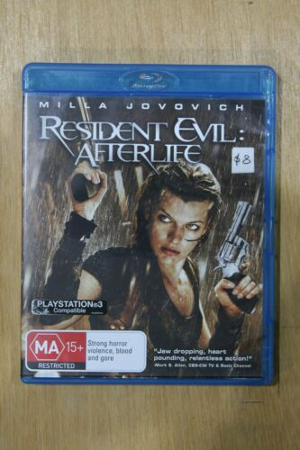 1 of 1 - Resident Evil - Afterlife (Blu-ray, 2011)  -** Excellent Used Condition**  (D70)