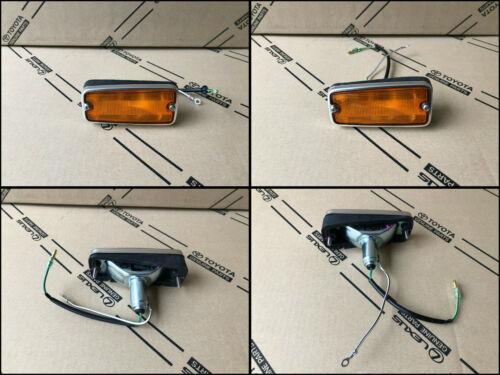 Toyota Land Cruiser FJ40 FJ45 Satz Blinkleuchten Lichtscheibe Seitenmarkierung