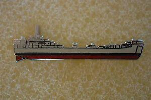 US-USA-USN-Navy-USS-LST-Landing-Ship-Tank-Military-Hat-Lapel-Pin