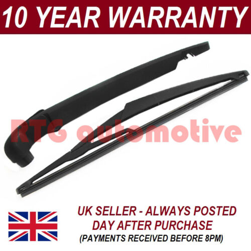 """FOR VAUXHALL OPEL ASTRA G MK4 ESTATE 1998-04 290MM 11/"""" REAR WIPER ARM BLADE KIT"""