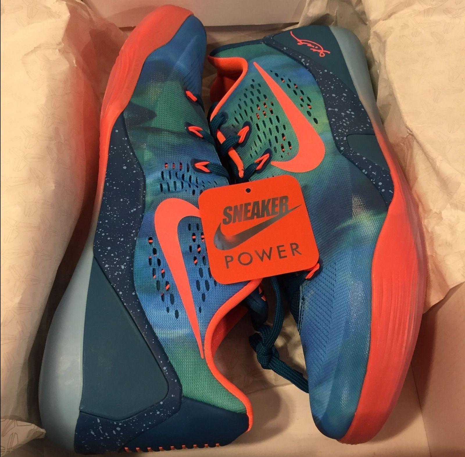 NEW DS Nike Zoom Kobe IX 9 EM Low Peach Jam Promo sz 11 11.5 13 Multicolor iv v