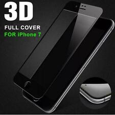Anti-Scratch Iphone 7 Curved 3D Tempered Glass Full Screen Protector BLACK