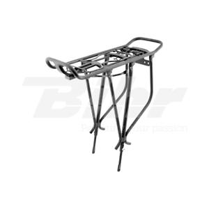 481 Portabagagli posteriore bici da 24 -26 -28  in alluminio color black