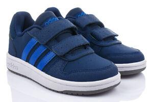 Adidas Gr28 Hoops Kinderschuhe Details Turnschuhe Sneaker Klettverschluss Zu 35 0 2 Cmf shxQdBtrC