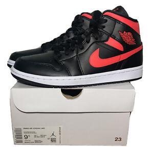 Details about Nike Air Jordan 1 Mid 'Siren Red' Shoes Size Women's 9.5 Men's 8 BQ6472-004