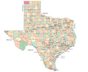 County And City Map Of Texas.Details About Texas State County Map Glossy Poster Picture Photo Print Road City Dallas 3425