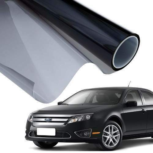 WINDOW TINTING FILM FOR CAR 50/%  FILM TINTING PRO LIMO BLACK SMOKE35