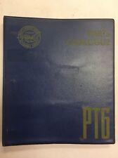 Pratt & Whitney PT6A-20 Turboprop Engine Parts Catalog & Vendor Parts Lists
