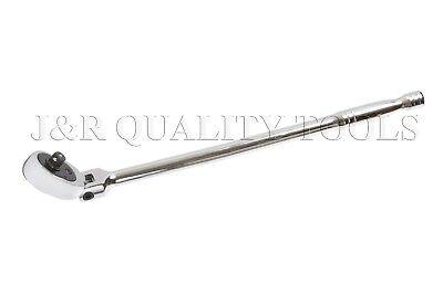 "Extra Long Flexible Head Ratchet 3//8/"" inch Drive w// 17/"" inch Long Handle"