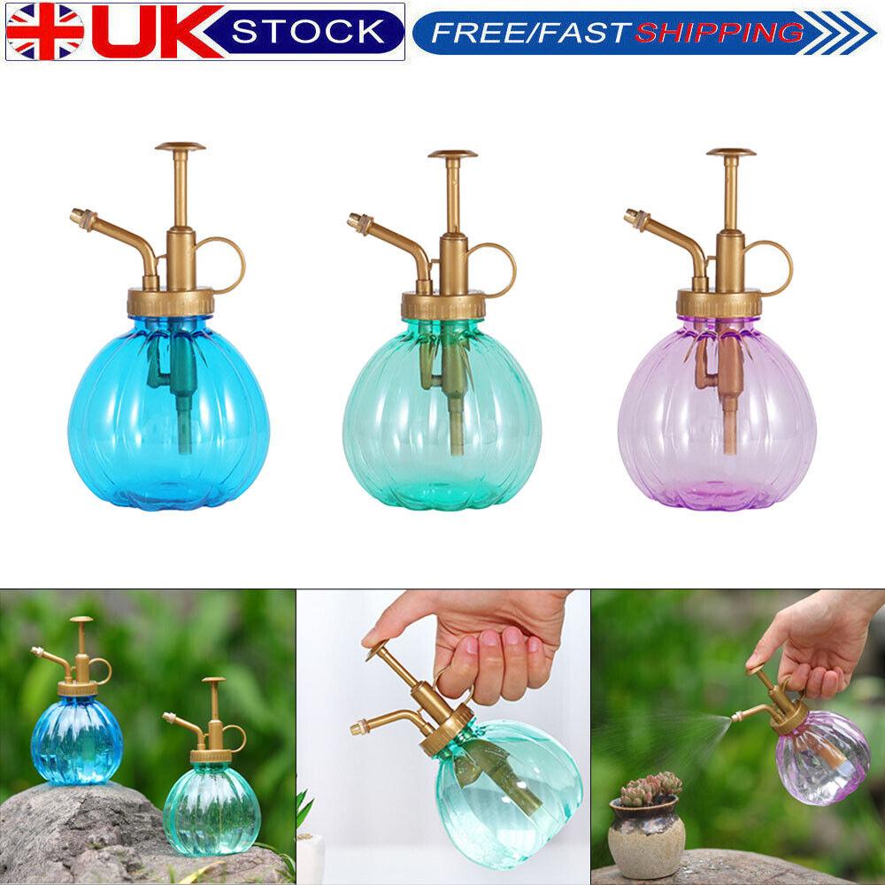 Pumpkin Plant Flower Watering Pot Spray Bottle Garden Mister Sprayer Pot #yxX