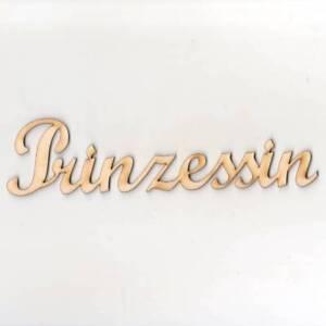 Prinzessin-20cm-Schriftzug-Wanddeko-schoenes-Wohnen-Holz-XXL-Kinderzimmer-Deko