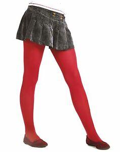 School-Red-Older-Girl-039-s-Tights-40-Denier-Hosiery-Victoria-by-Lady-K