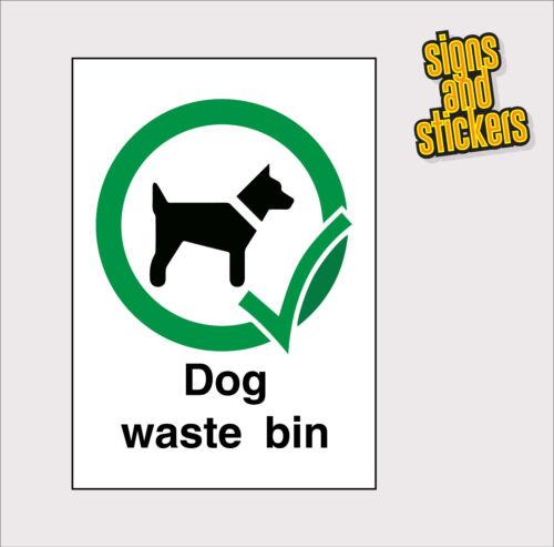 mejor en  A6 Tamaño de gastos de envío gratis de calidad superior Residuos de perro bin Pegatinas