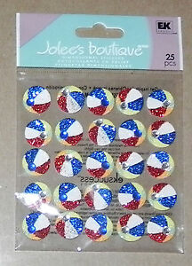 Jolee/'s Boutique Dimensional Stickers Beach Ball Repeats