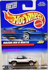 HOT WHEELS 1999 MAZDA MX-5 MIATA #1084 WHITE