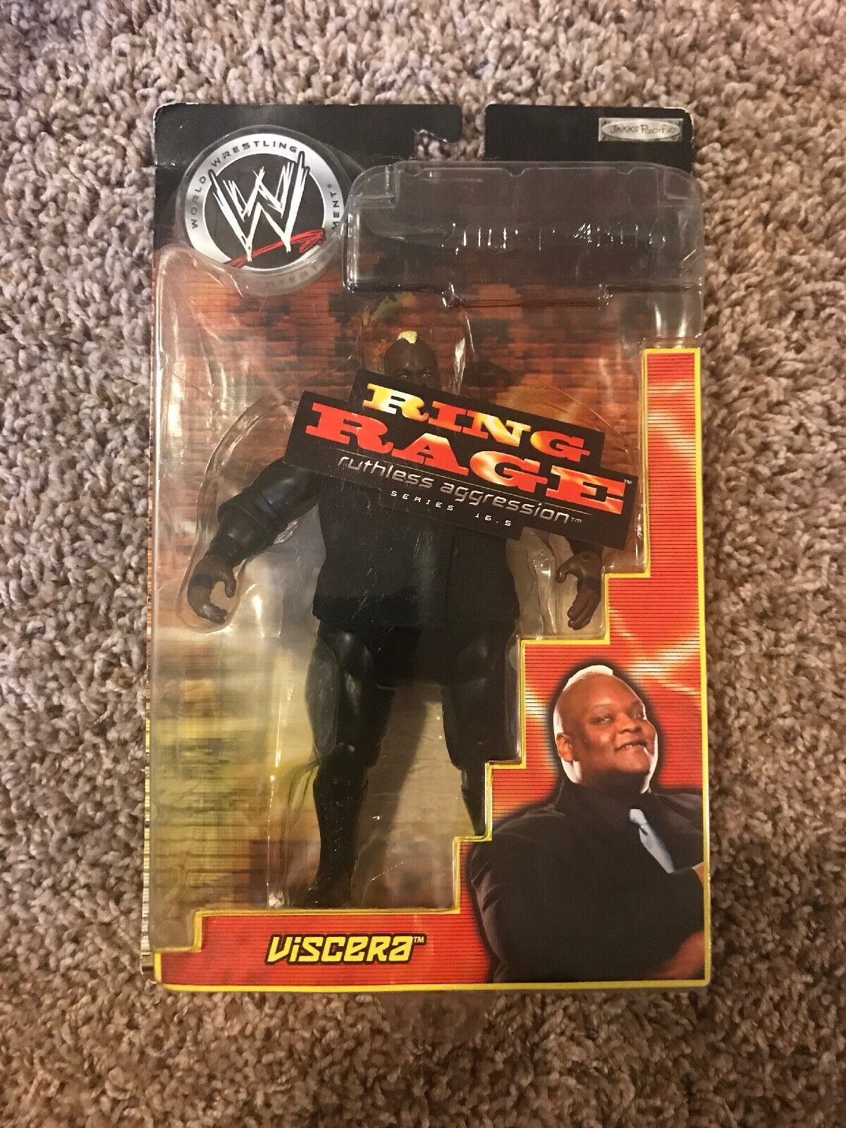 WWE Viscera Ring Rage Action Figure