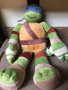 24-034-Leonardo-With-Tags-Nickelodeon-2014-Teenage-Mutant-Ninja-Turtle-Plush