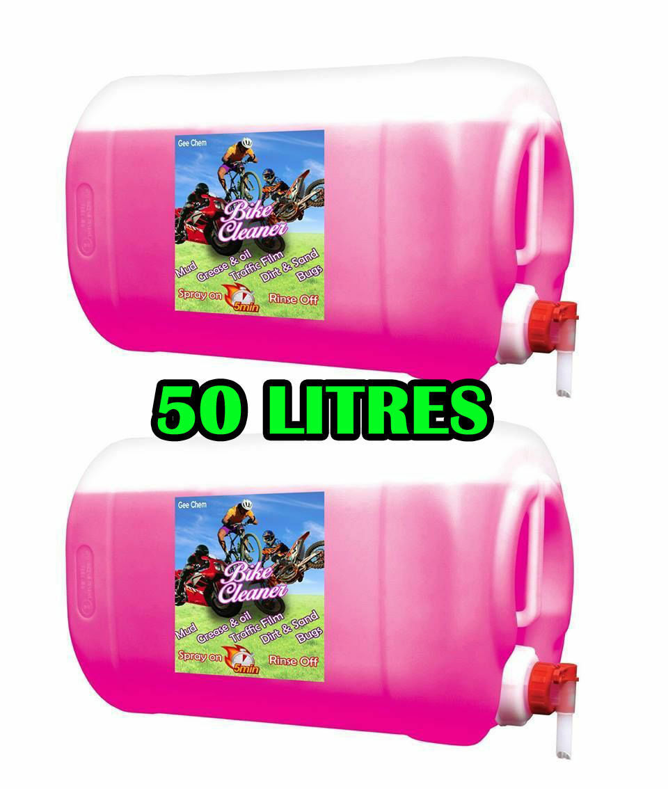 Gee Nettoyant Vélo Bicyclette Motocycle 2 X 25L (50L) Gets Muc Off Rapide  + 2