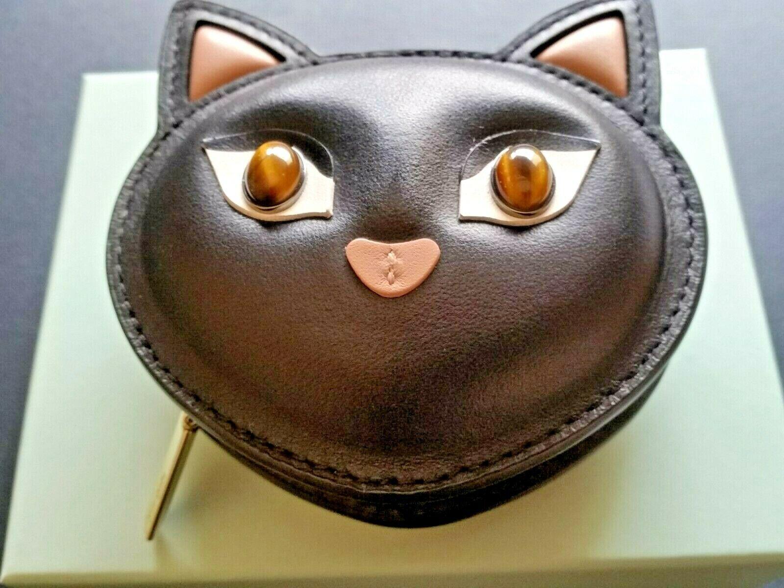 Kate Spade Meow Cat Coin Purse - Black