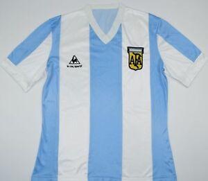 9731fb7a417 1984-1986 ARGENTINA LE COQ SPORTIF HOME FOOTBALL SHIRT (SIZE M) | eBay