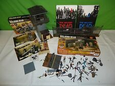 mcfarlane the walking dead set lot, figures, etc, books too