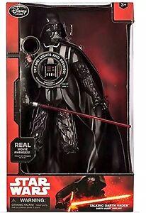 Darth Vader Talking Figure 14/'/' Star Wars Light Sound Disney Store Exclusive NEW