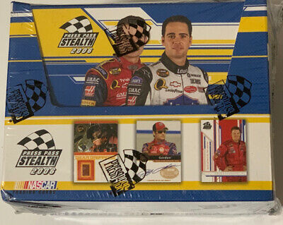 2005 Pass sellado de fábrica Nascar Racing Press Hobby Edición en Caja