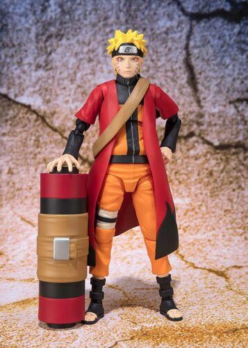 New hot Shippuden SH Figuarts Naruto Uchiha Advanced Sage Mode Action Figure box