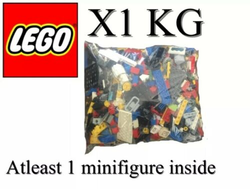 Now Starter Set  80s Genuine Lego Bundle 1kg-1000g Mixed Bricks Parts Pieces