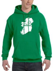 Irish Sudadera Nuevo hombres Patrick's Pride Beer Irlanda de verde Shamrock Mapa V508 para St qqPpB
