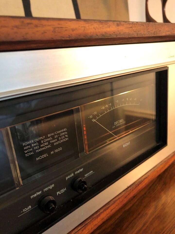 Effektforstærker, Luxman, M-1600