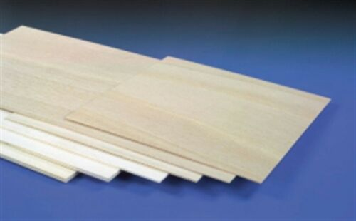 """x 4/' 12/"""" 48/"""" Light Aviation Modelers Plywood Sheet 1 x 6mm x 1/' - 24hr Courier"""