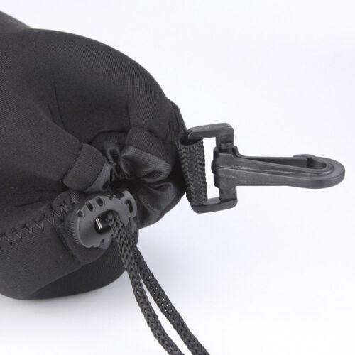 10cm x 22cm Obiettivo porta obiettivo custodia borsa in neoprene taglia XL