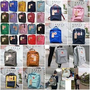 Fjallraven-Kanken-Backpack-Mens-Unisex-Rucksack-Bag-Luggage-Pack-New
